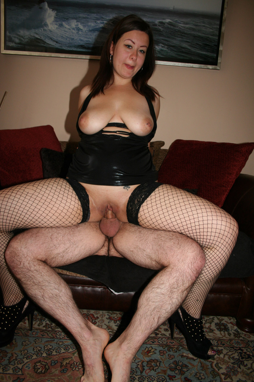 image British milf in plastic part 1